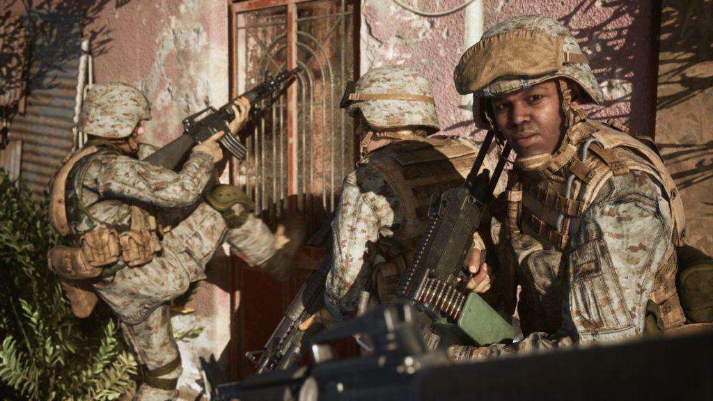 Procedurálně generované prostředí v Six Days in Fallujah sdif