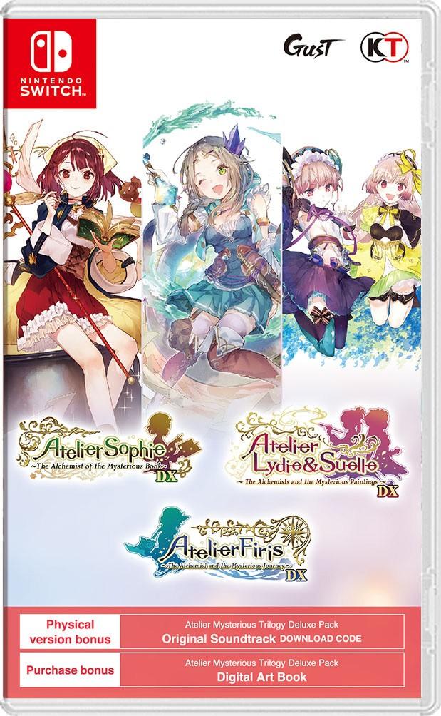 Přehled novinek z Japonska 16. týdne Atelier Mysterious Trilogy
