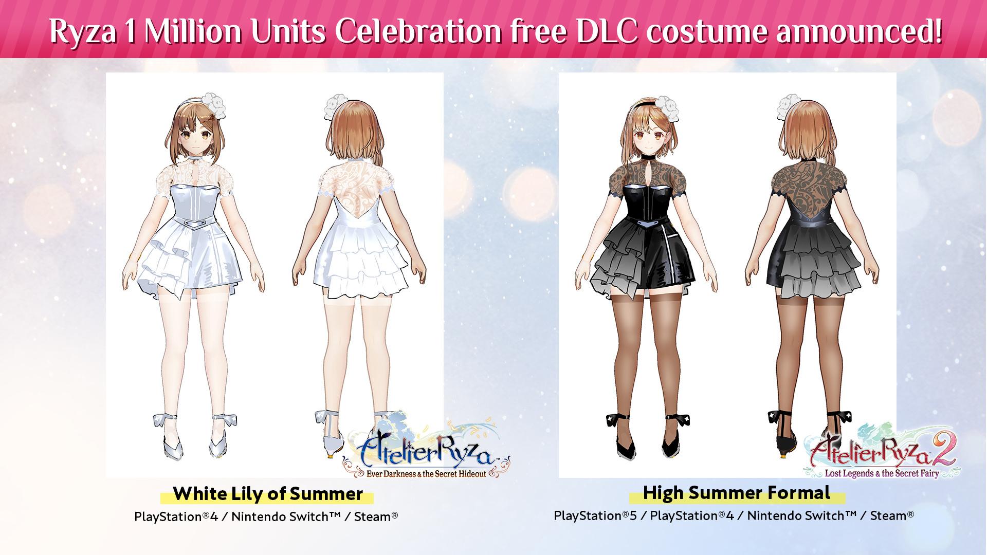 Přehled novinek z Japonska 13. týdne Atelier Ryza DLC 03 31 21