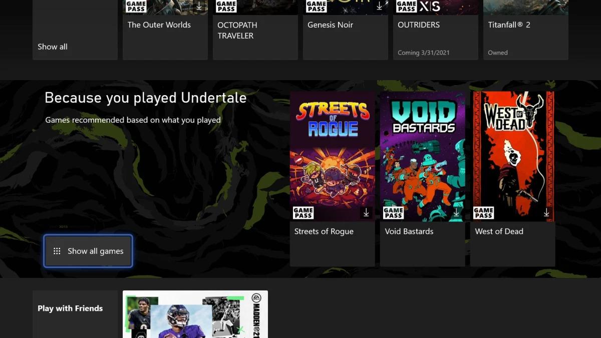 Xbox přináší novou aktualizaci Collections