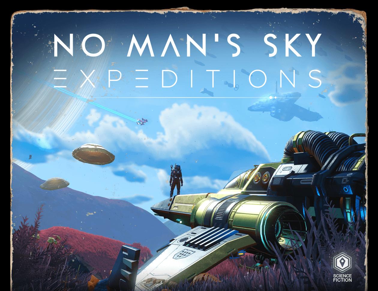 No Man's Sky přivítalo novou aktualizaci