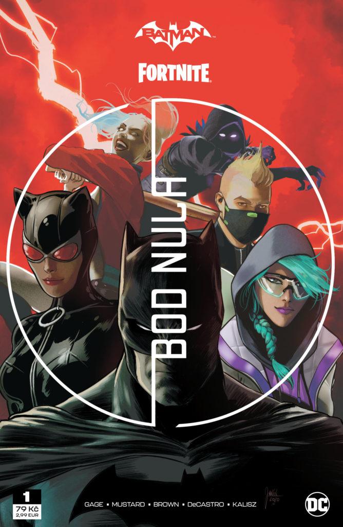 Recenze komiksu Batman/Fortnite - Bod Nula #1 Fortnite01 cover front hires