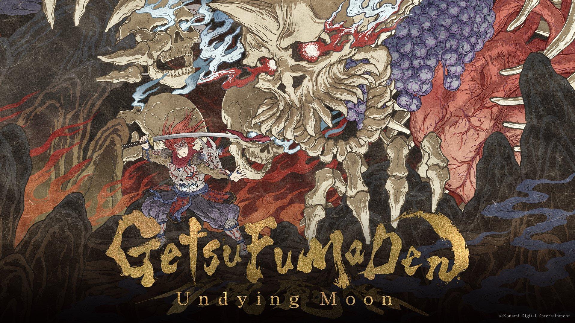Přehled novinek z Japonska 15. týdne GetsuFumaDen Undying Moon Key Art