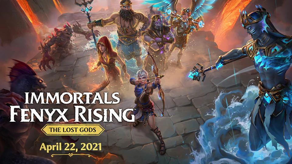 Poslední DLC do Immortals Fenyx Rising má datum vydání Immortals