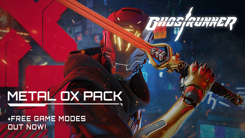 Dva nové režimy dorazily do hry Ghostrunner Metal OX 3