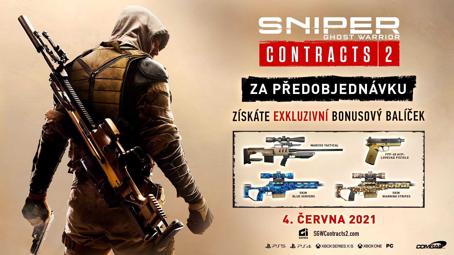Sniper Ghost Warrior Contracts 2 láká do Kuamaru Preorder