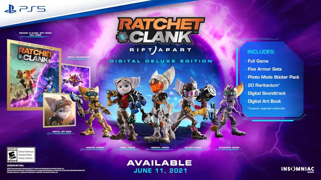Nová ukázka na Ratchet & Clank: Rift Apart Ratchet armor