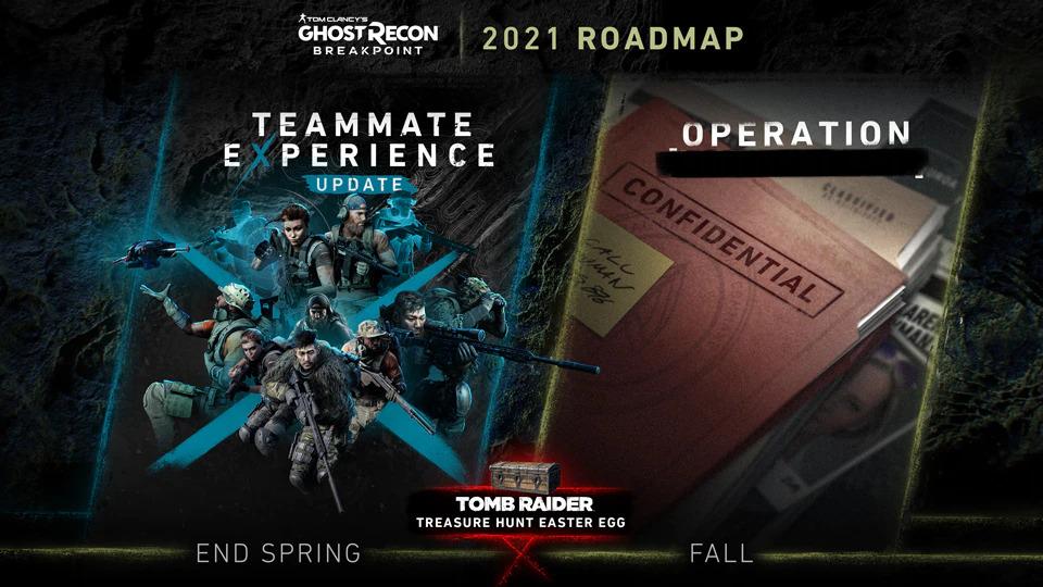 Jízdní řád nového obsahu do Ghost Recon Breakpoint Roadmap 1