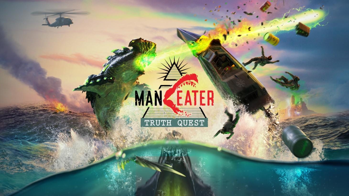 Představeno příběhové DLC pro Maneater Truth Quest