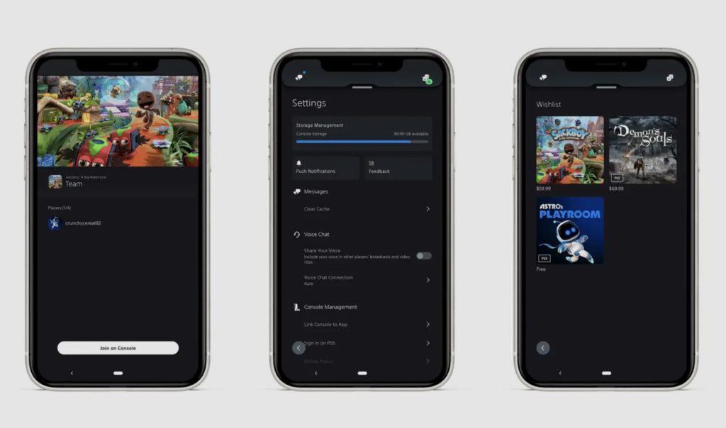 PS5 firmware obohacuje funkce konzole app