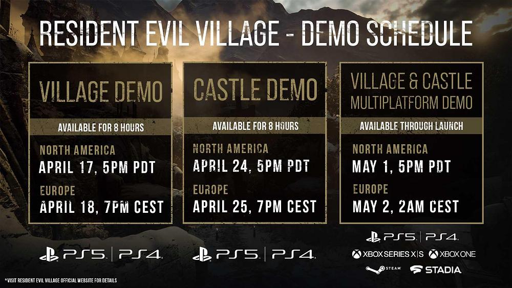 První hodiny v Resident Evil Village demo