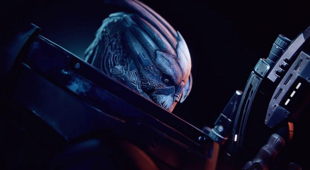 Mass Effect Legendary Edition - oficiální video srovnání garrus