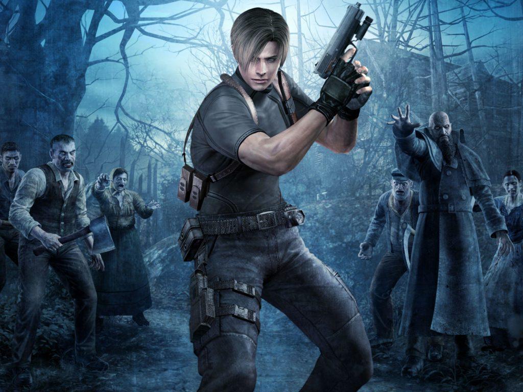 Kompletní příběh série Resident Evil, část druhá re4