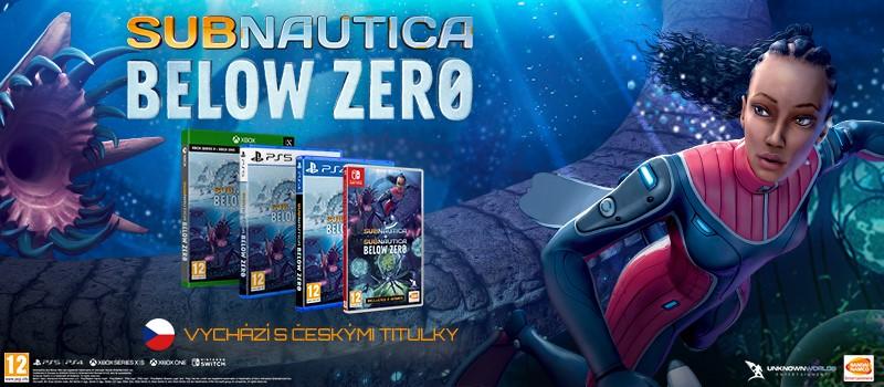 Subnautica: Below Zero vyjde s českými titulky subnauticacz