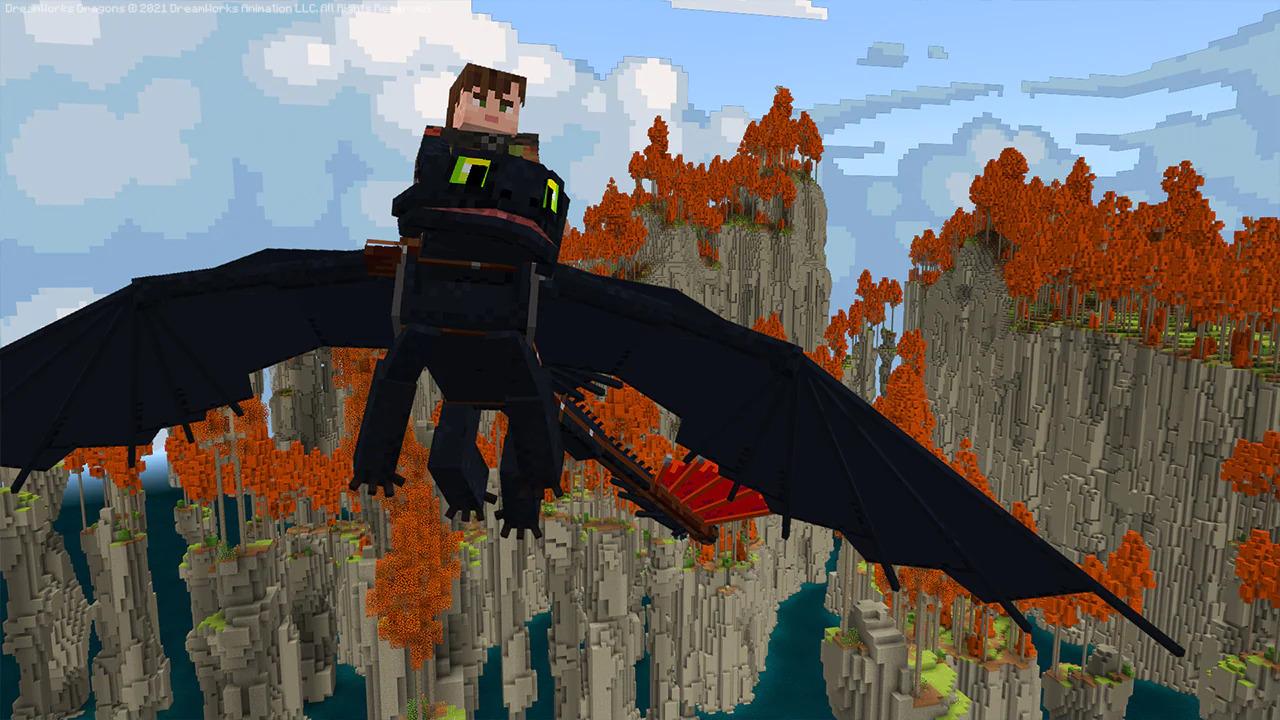 Vycvičte si draka v Minecraftu 1 9