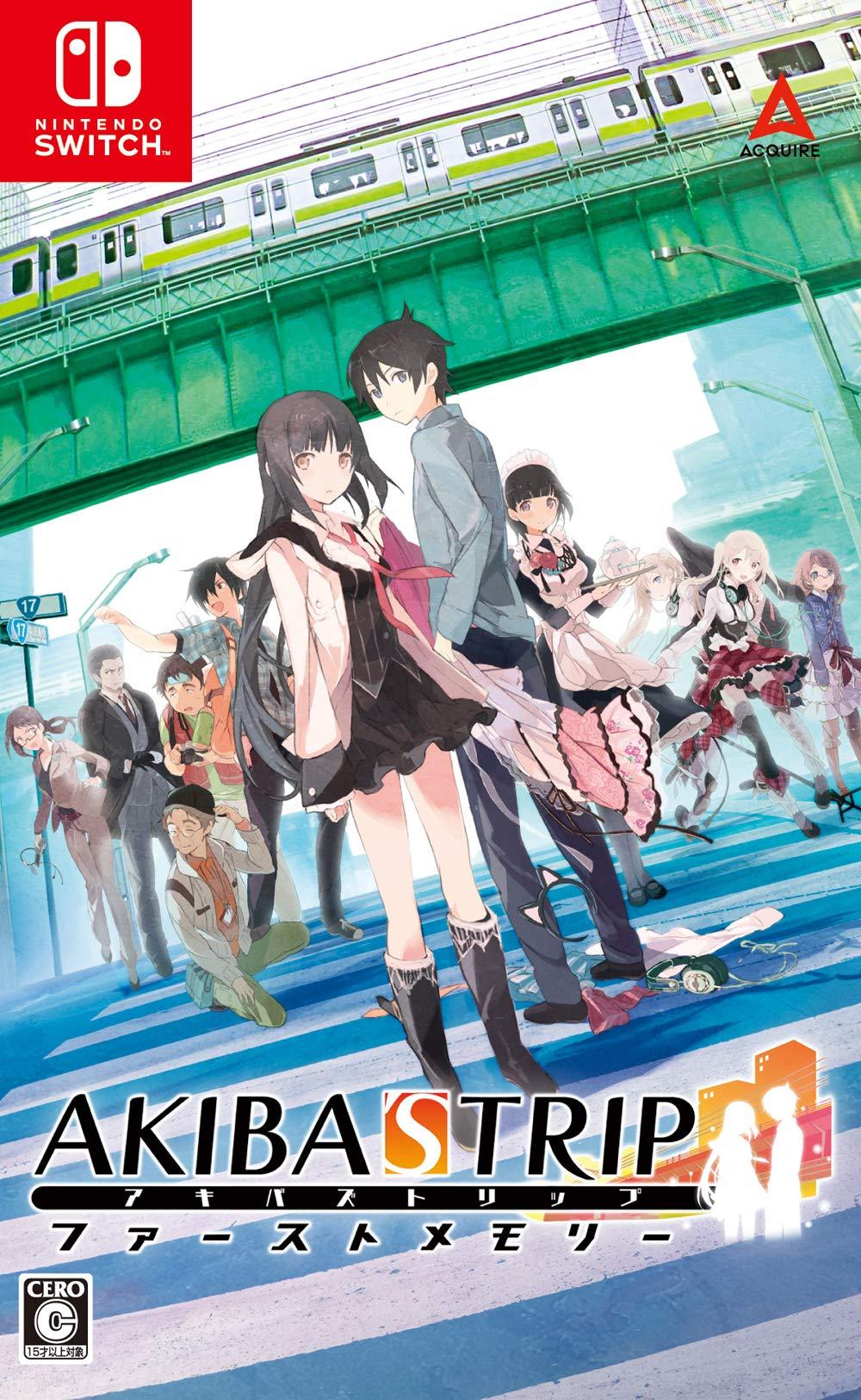 Přehled novinek z Japonska 20. týdne Akibas Trip Hellbound Debriefed Switch Cover Art