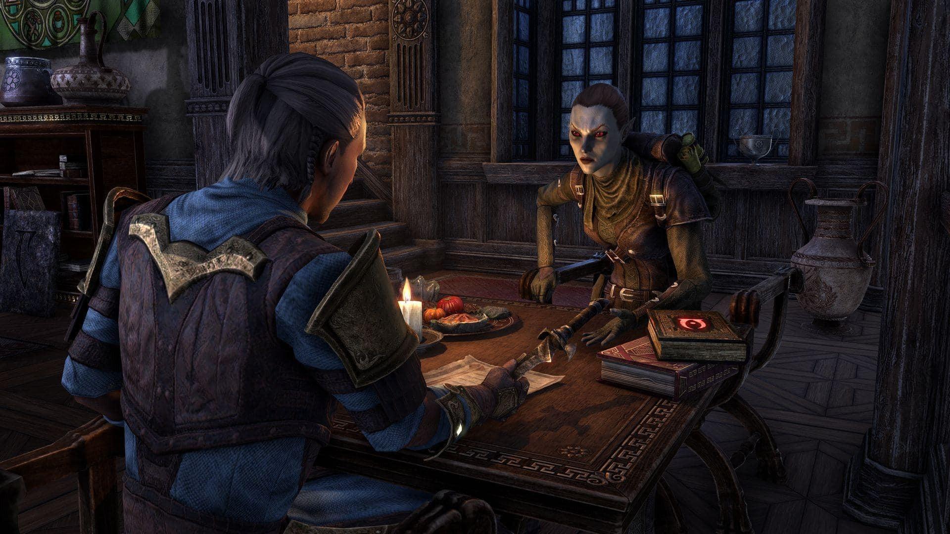 Do The Elder Scrolls Online přibudou společníci Companion 1