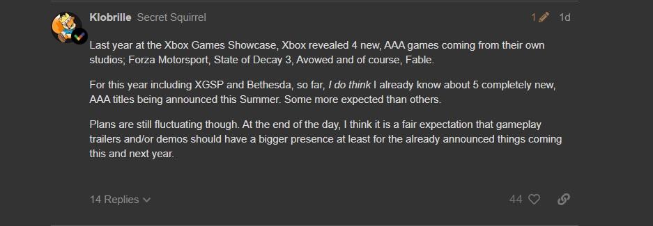 Microsoft s Bethesdou mají v létě oznámit 5 nových AAA her Klobrille