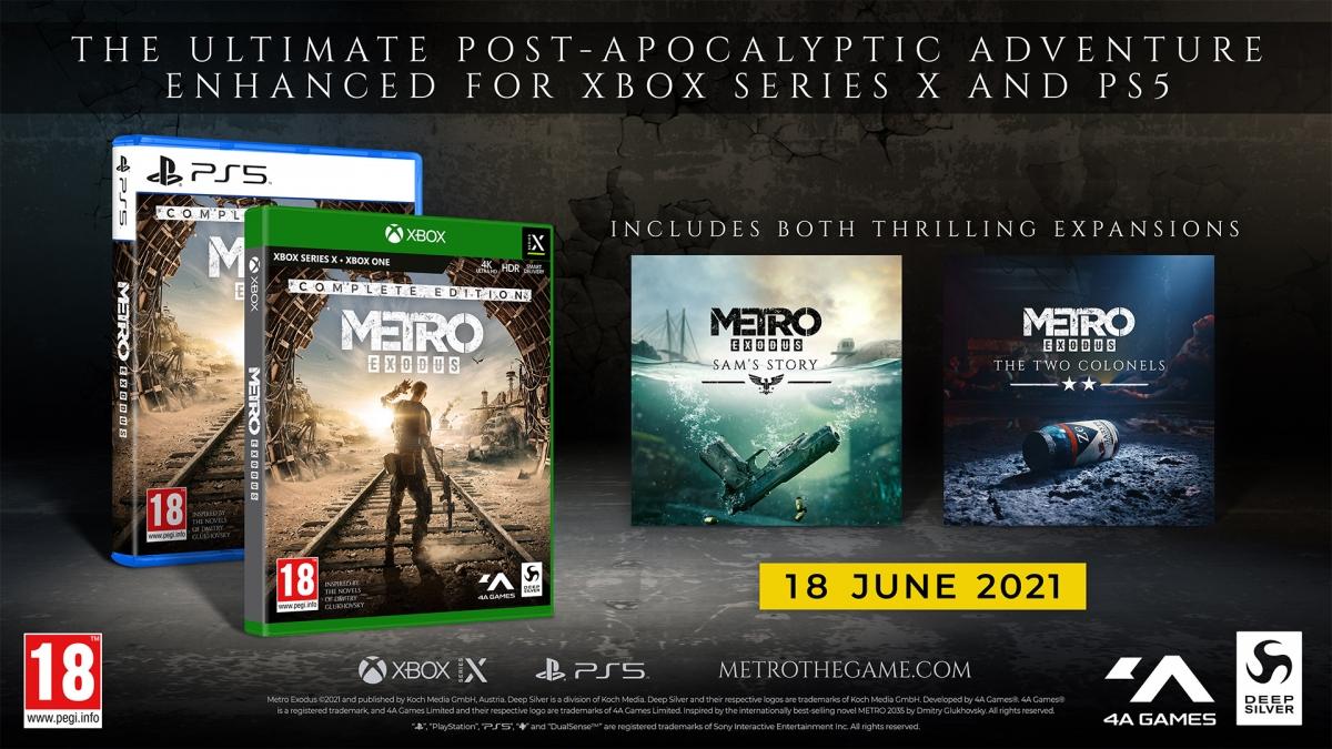 Konzolová vylepšená verze hry Metro Exodus dostala datum vydání Metro fyzicka