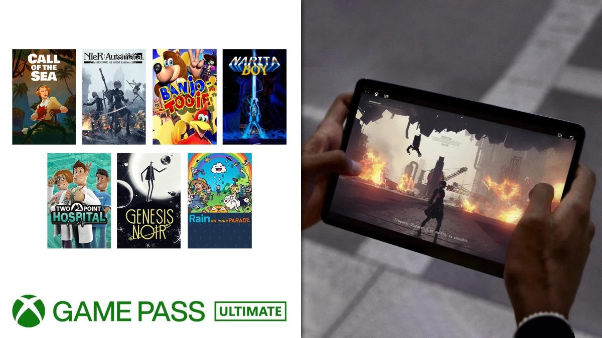 Další nášup her do služby Xbox Game Pass XCloud