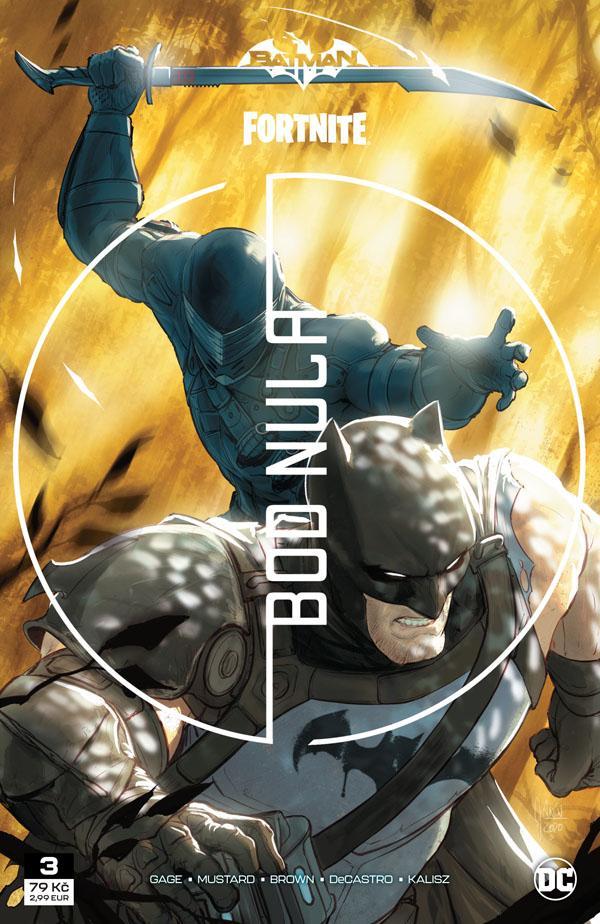 Recenze komiksu Batman/Fortnite – Bod Nula #3 cover image.1620214394
