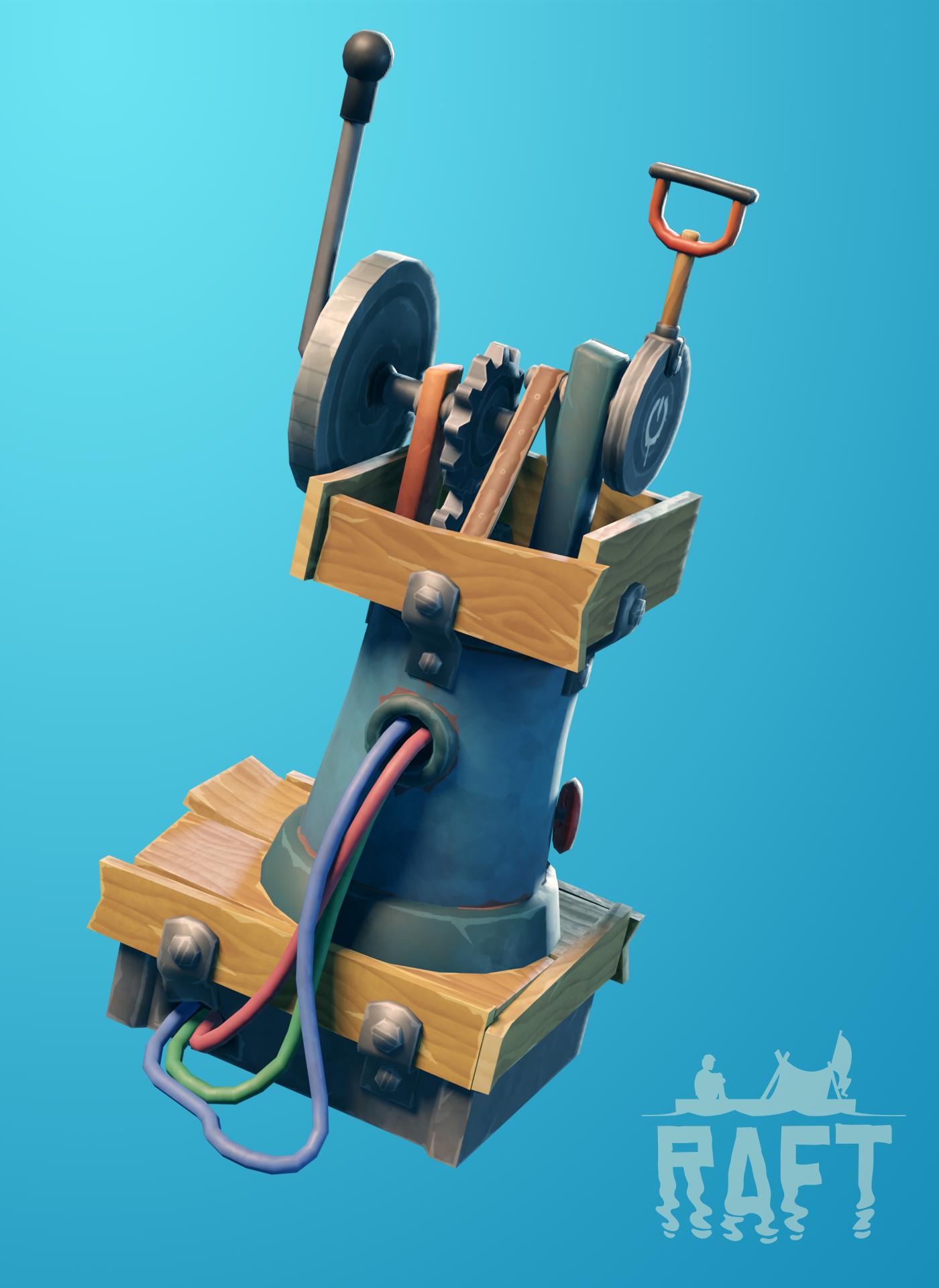 Do Raftu se podívala další aktualizace Engine