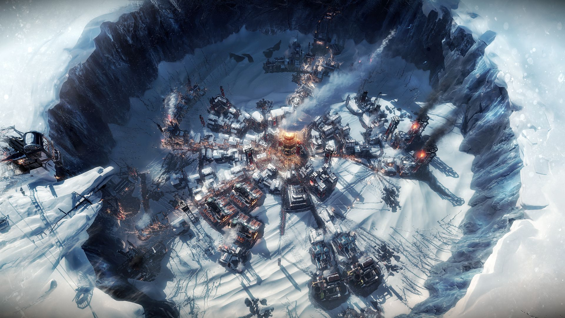 Deset her, kde je ZIMA Frostpunk 3