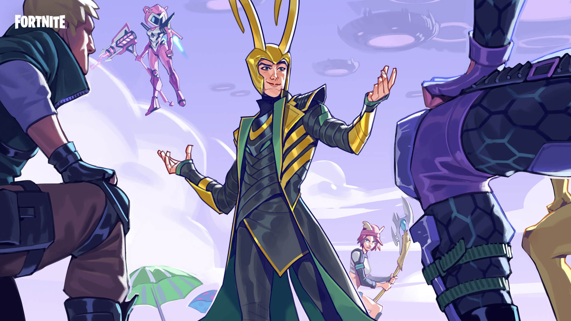 Fortnite přivítá Lokiho Loki 2