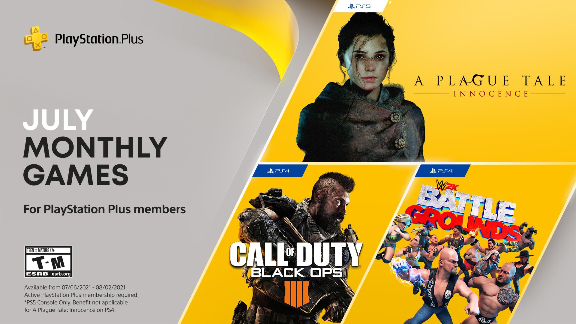 PlayStation Plus hry pro červenec PS Plus cervenec