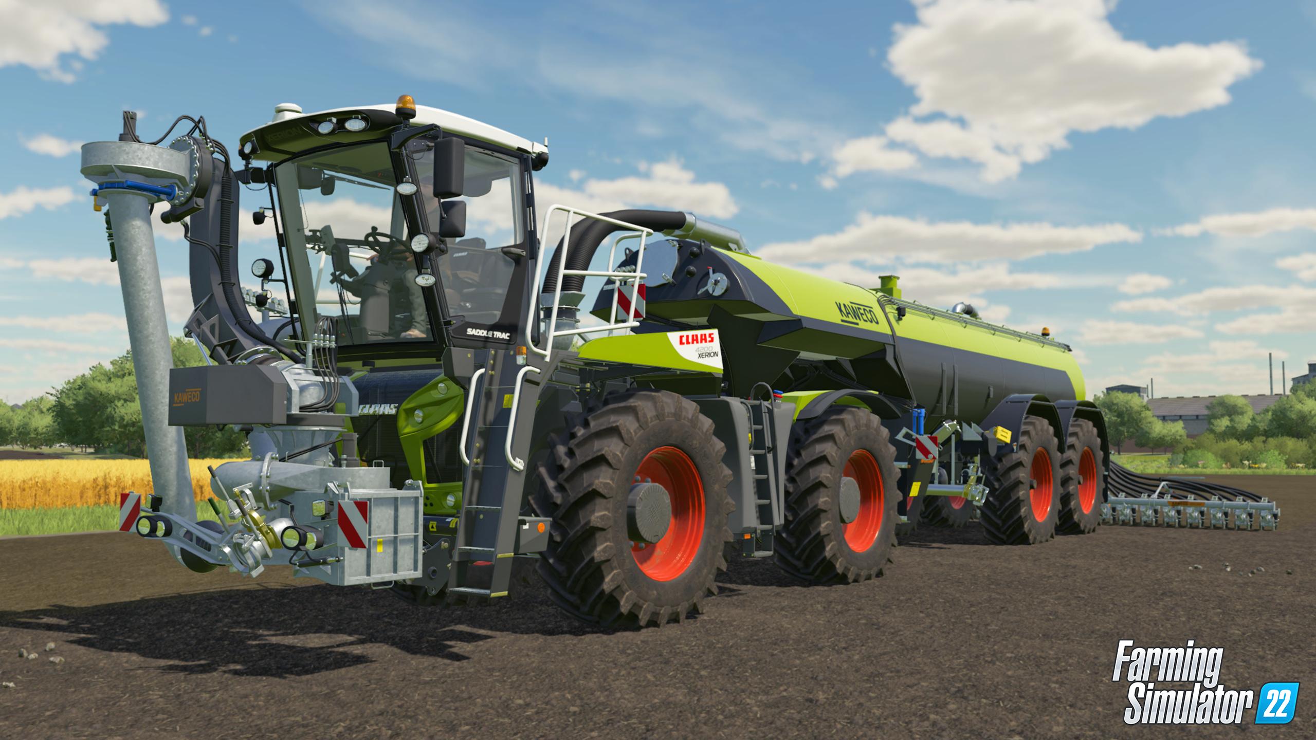 Nová ukázka na Farming Simulator 22 odhalila datum vydání Pack min 1