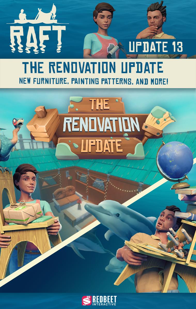 Do Raftu se podívala další aktualizace Raft
