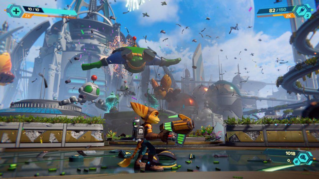 Recenze Ratchet & Clank: Rift Apart - nejkrásnější animák Ratchet Clank Rift Apart 20210524194950