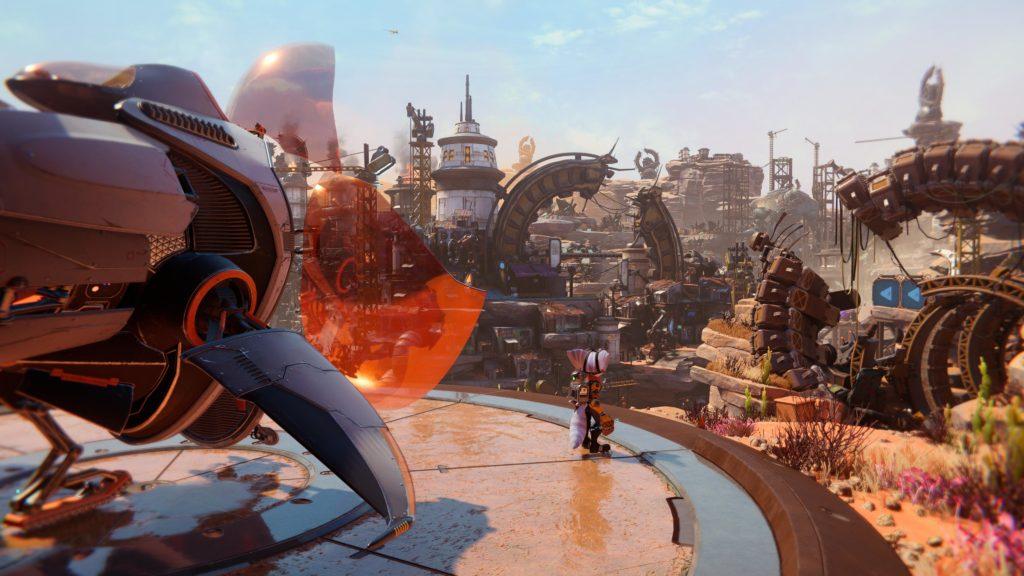 Recenze Ratchet & Clank: Rift Apart - nejkrásnější animák Ratchet Clank Rift Apart 20210526214659