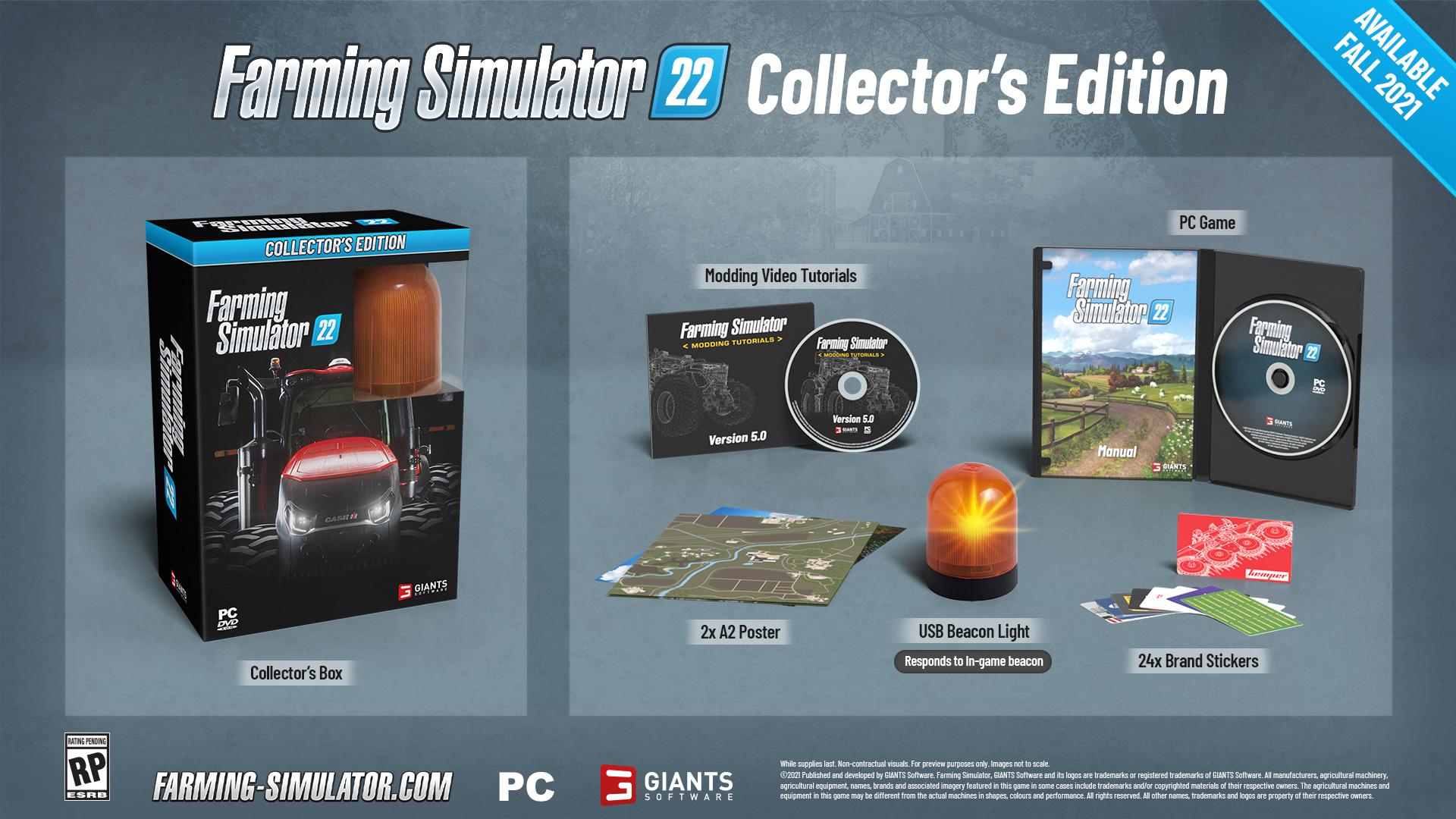 Nová ukázka na Farming Simulator 22 odhalila datum vydání Sberatelka