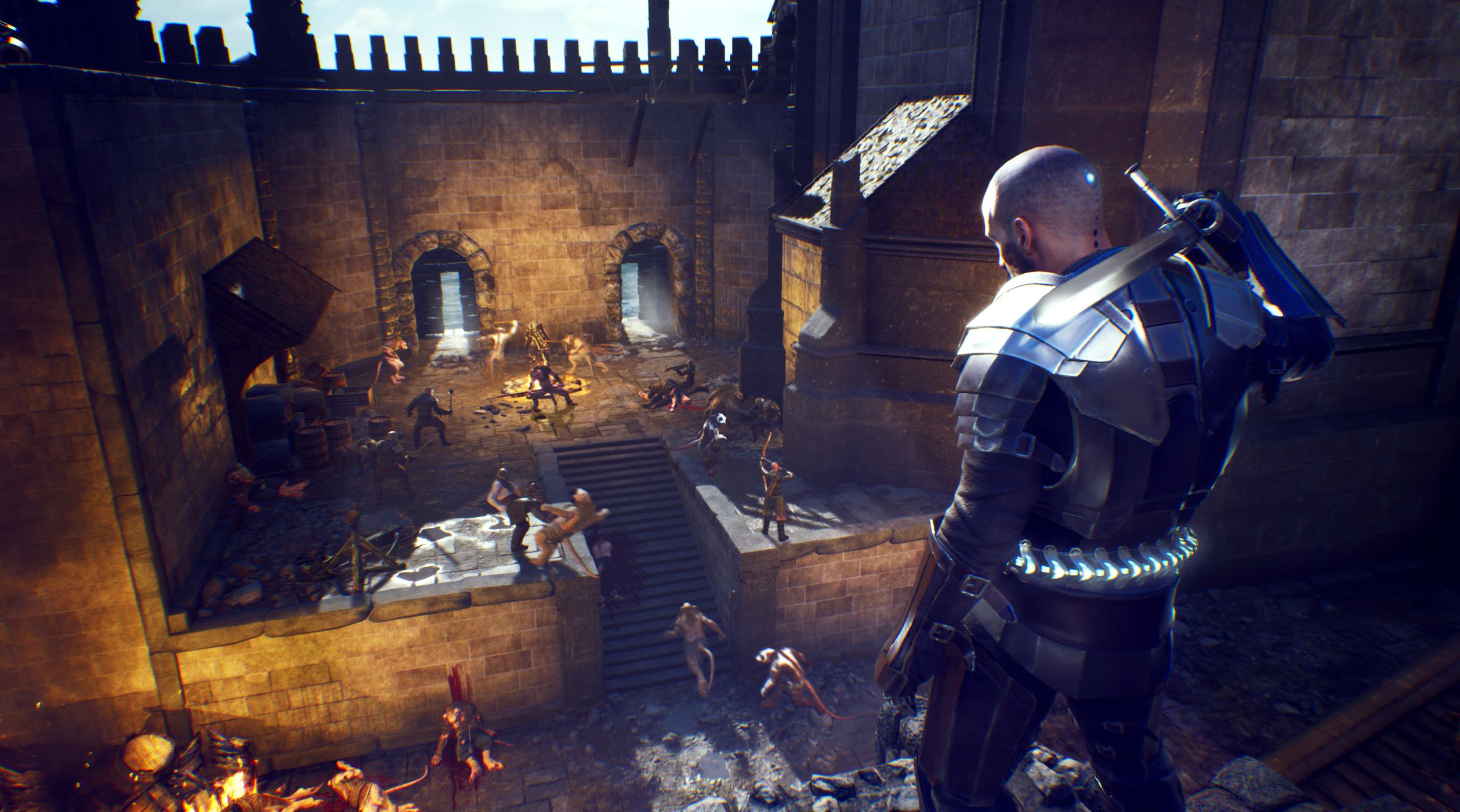 Česká soulsovka Lost Hero přejmenována na The Last Oricru TLO Screenshot Castle