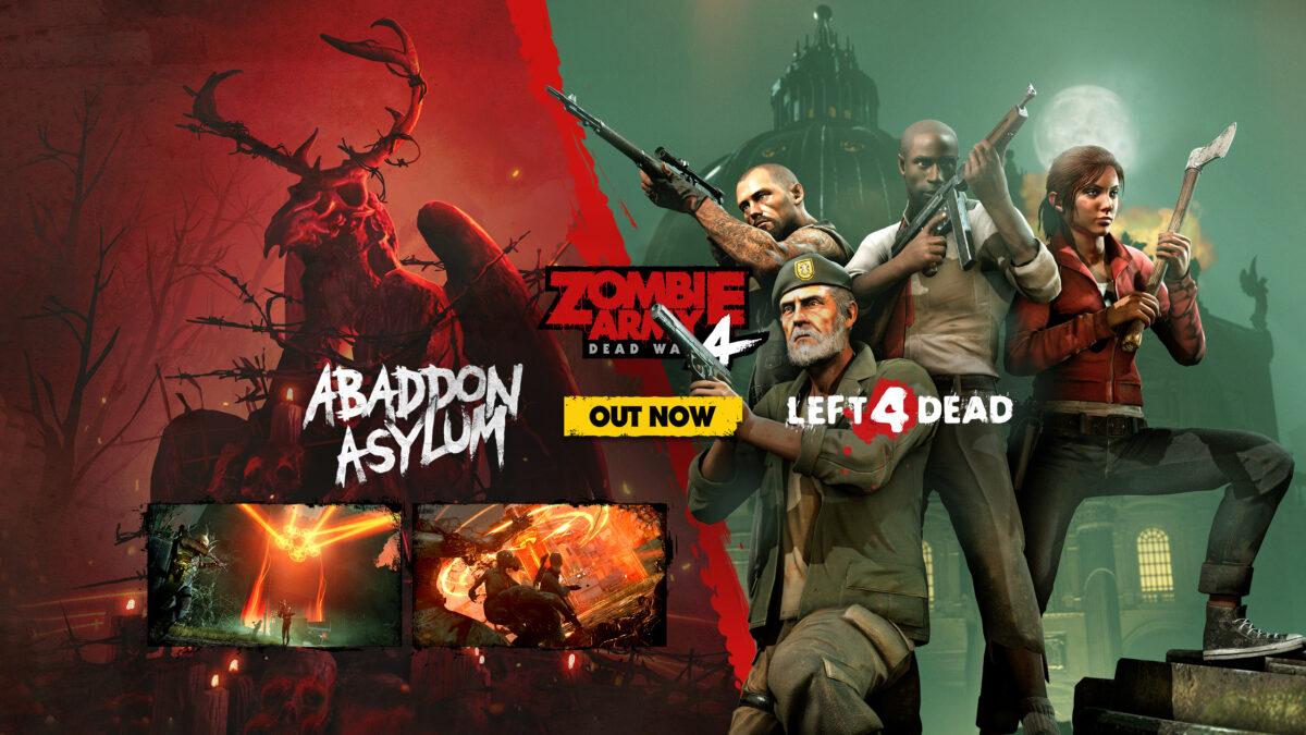 Zombie Army 4 přidává postavy z Left 4 Dead Zombie Army