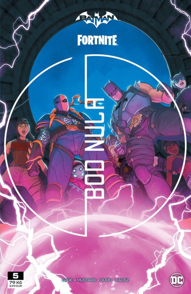 Recenze komiksu Batman/Fortnite – Bod Nula #5 bn5o