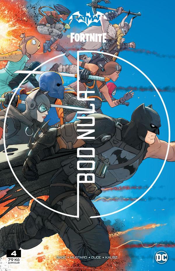 Recenze komiksu Batman/Fortnite – Bod Nula #4 cover image.1620907590