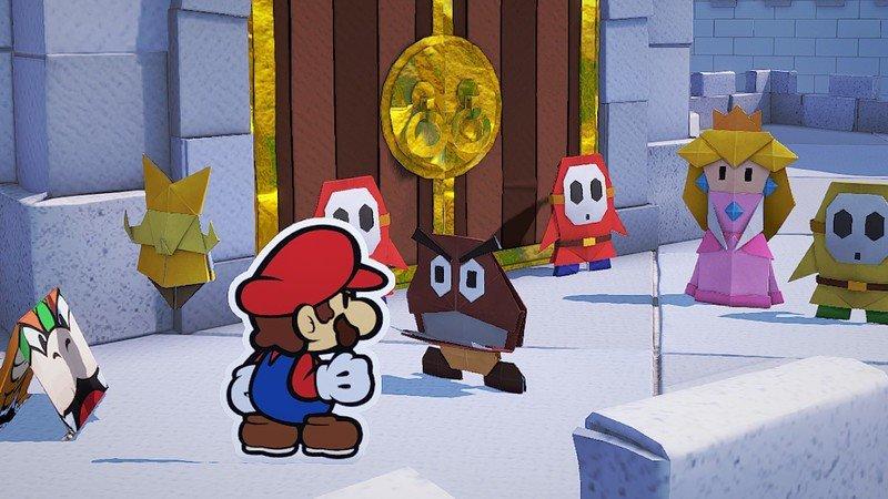 Super Mario na Switchi: přehled & anketa paper mario origami king battle