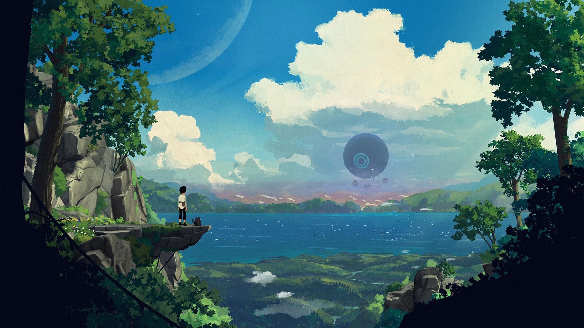 Oznámena malebná indie plošinovka Planet of Lana planetoflana