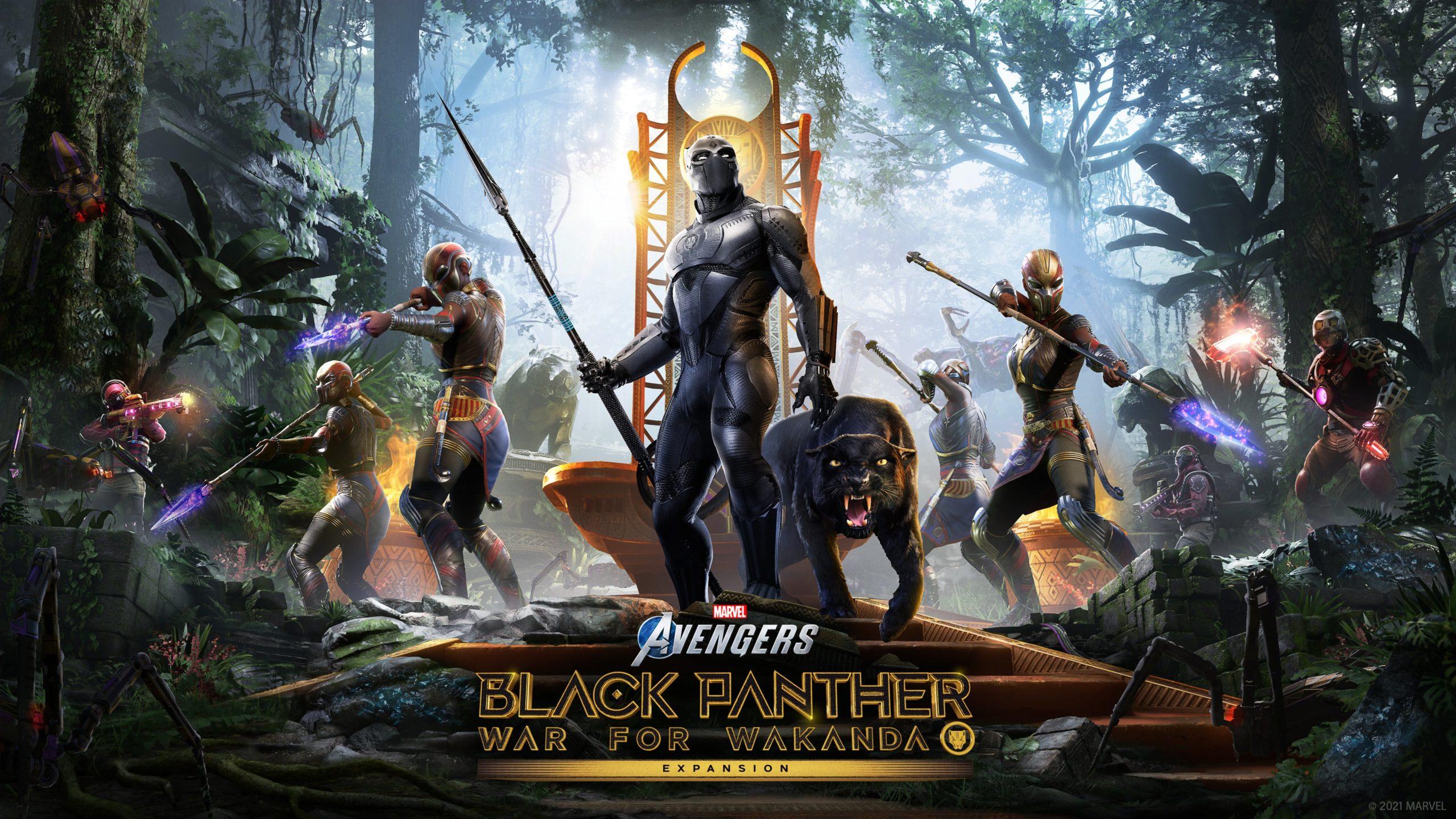 Rozšíření War for Wakanda pro Marvel's Avengers v srpnu BP ComicArt 3840x2160 Final 2 min scaled