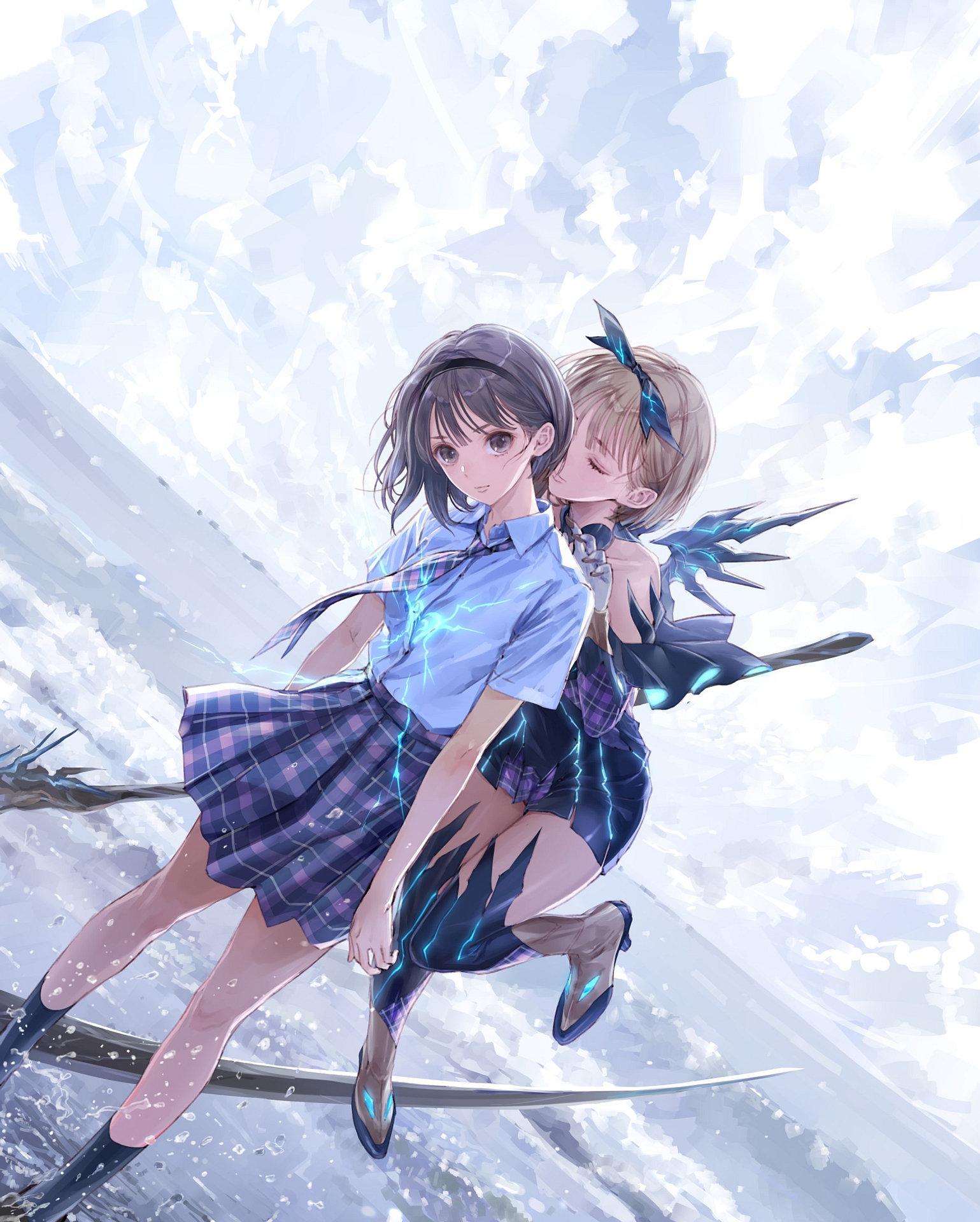 Přehled novinek z Japonska 29. týdne Blue Reflection Second Light 2021 07 21 21 001