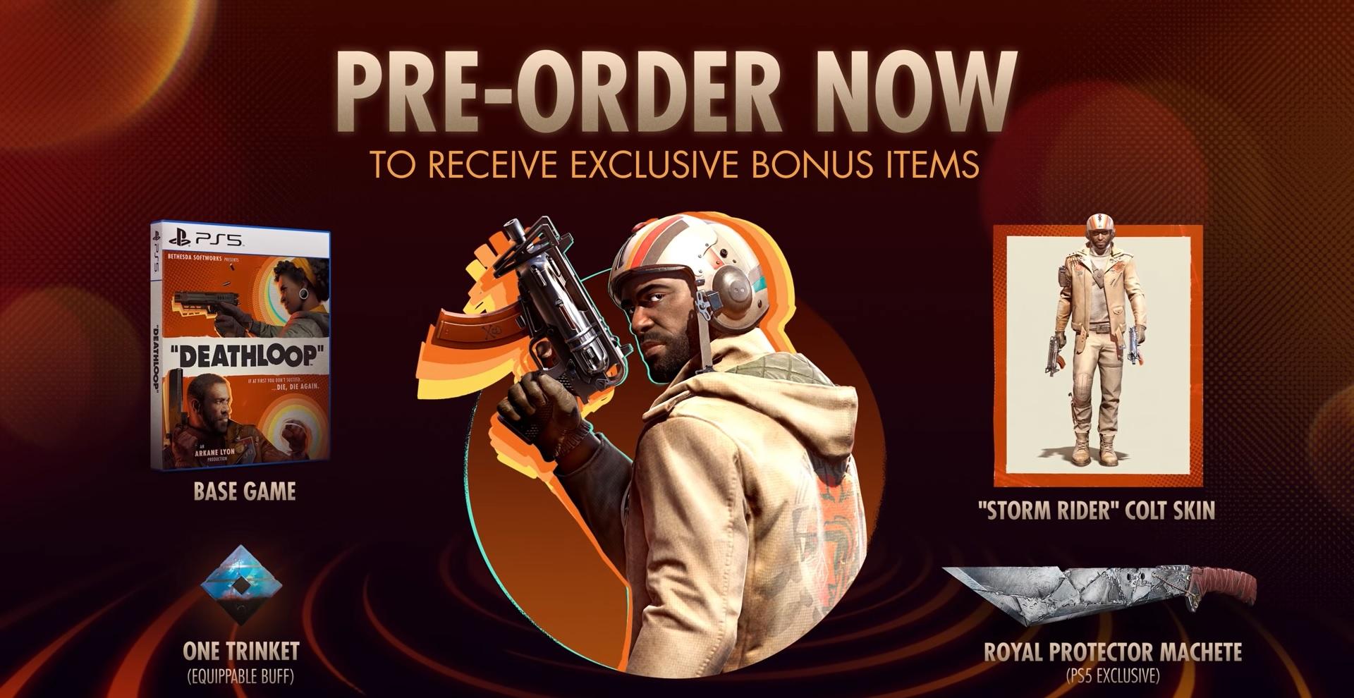Nový trailer představuje předobjednávkové bonusy pro Deathloop Bonusy 1