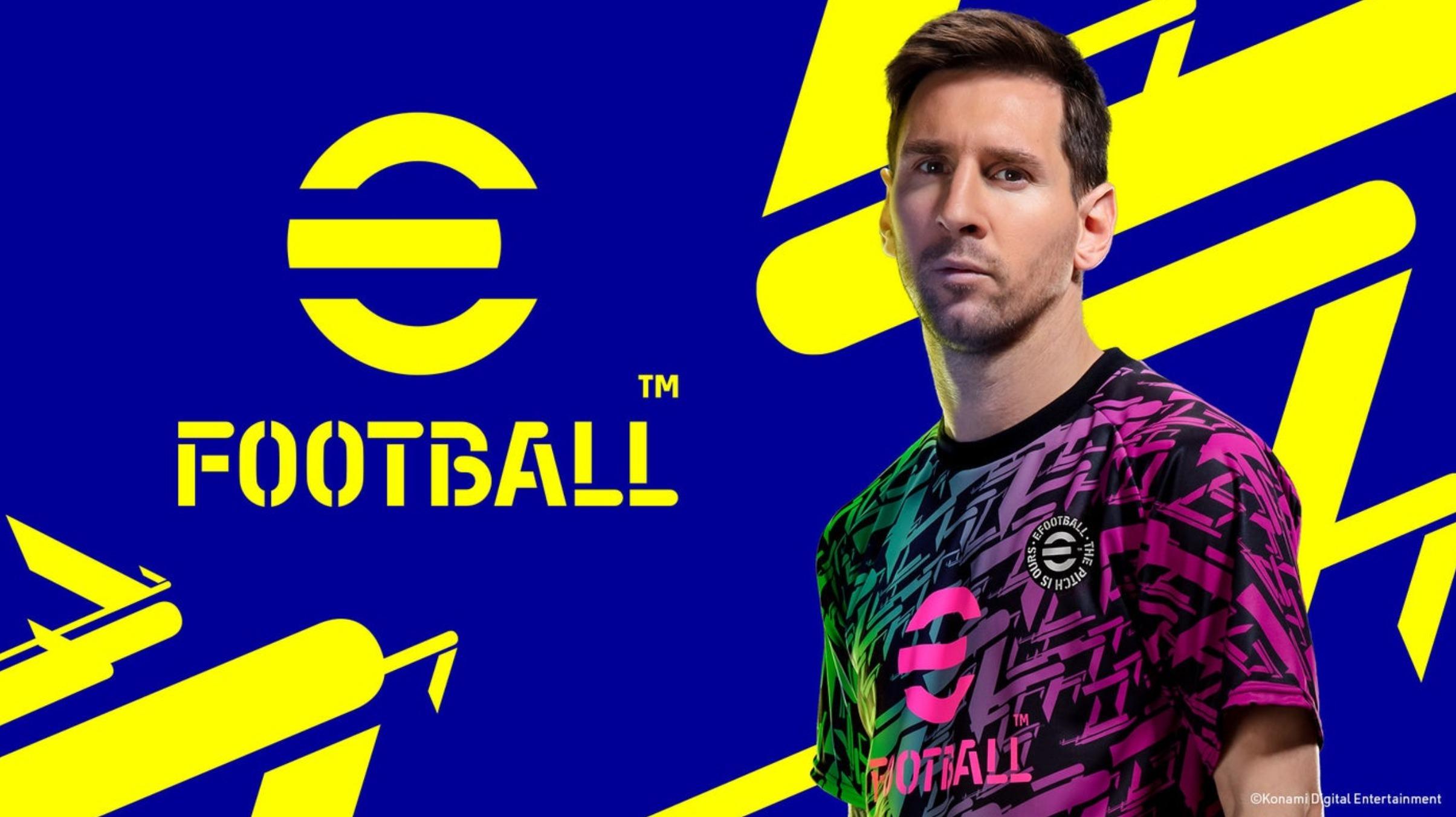 PES se přejmenovává na eFootball a bude free-to-play Efootball 1