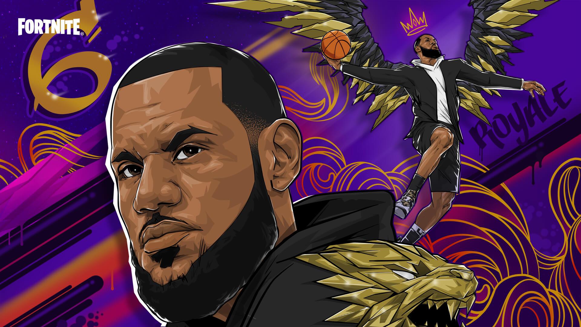 Do Fortnite dorazí hvězda NBA - LeBron James Loading