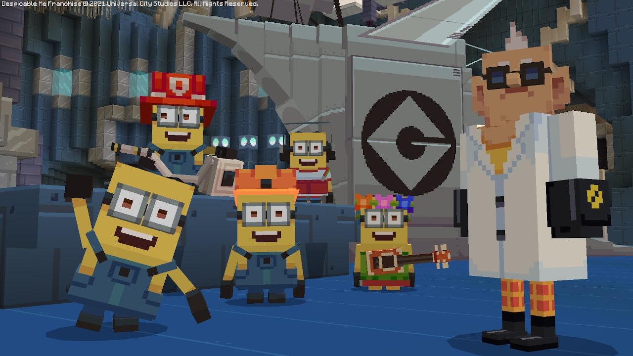 Minecraft zamořili Mimoni Minecraft 1