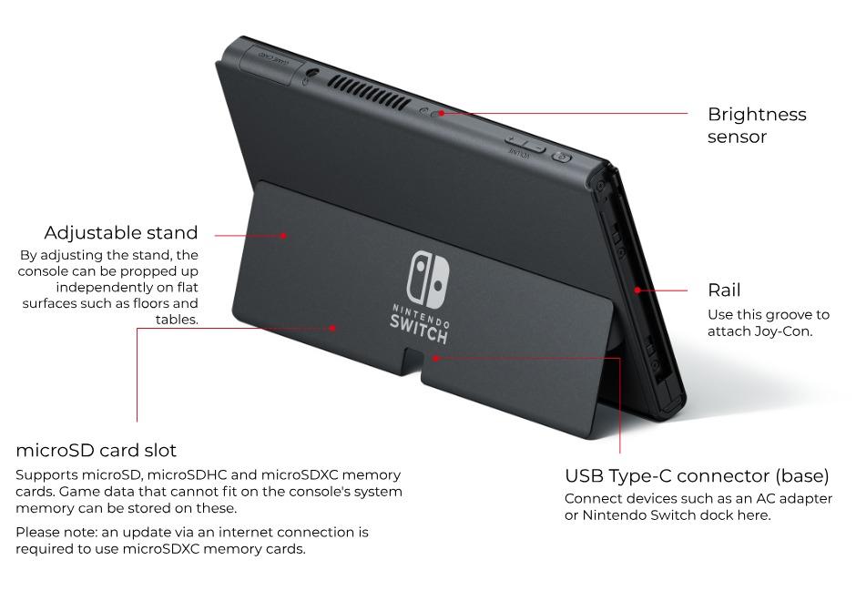 Oficiální představení Nintendo Switch s OLED displejem NSwitchConsoleBack OLED en