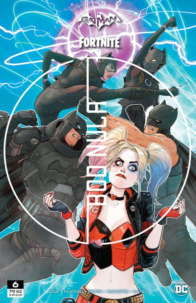 Recenze komiksu Batman/Fortnite – Bod Nula #6 cover image.1624971549