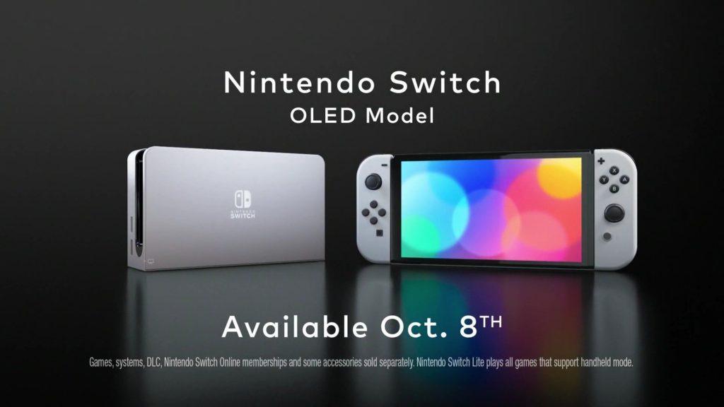 Oficiální představení Nintendo Switch s OLED displejem so3