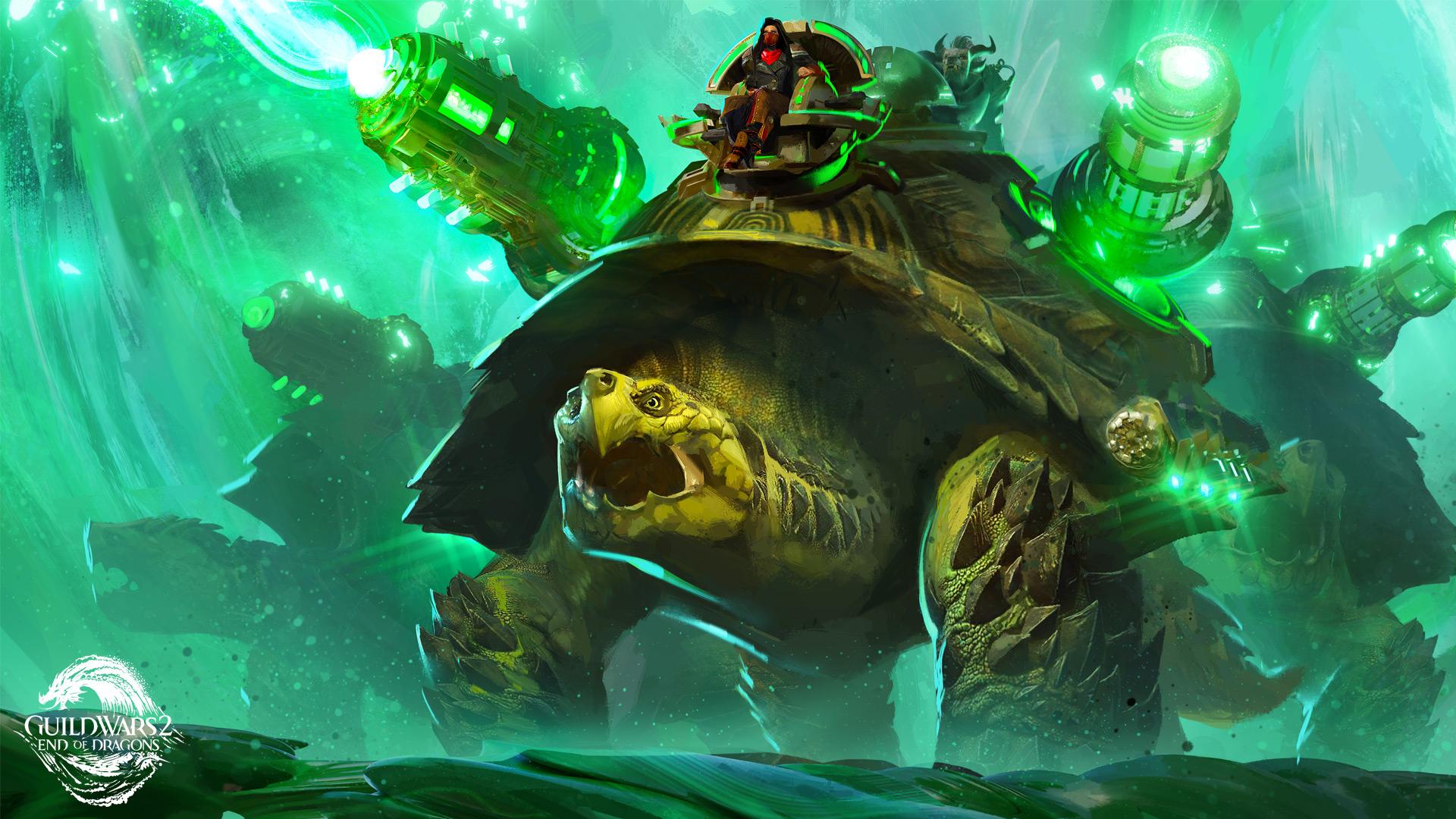 První detaily o expanzi Guild Wars 2: End of Dragons zelva